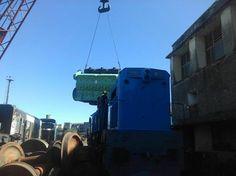 CRÓNICA FERROVIARIA: Línea Urquiza: Nuevo motor para locomotora GM mode...