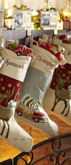 Rustic Christmas Stockings