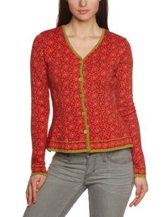 LANA natural wear Damen Strickjacke Jacke Eva lang: Amazon.de: Bekleidung