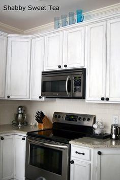 Shabby Sweet Tea: Annie Sloan Chalk Paint Kitchen Cabinets
