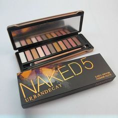 URBAN DECAY 'NAKED 5' Eyeshadow Palette ♡♥♡♥♡♥