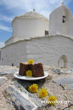 Greek Cooking, Bread Baking, Greek Beauty, Sweet Treats, Cake, Greece, Cookies, Food, Kitchen