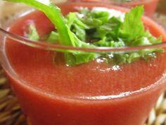 Ricetta Antipasto : Gazpacho delicato da Lacucinadimonica