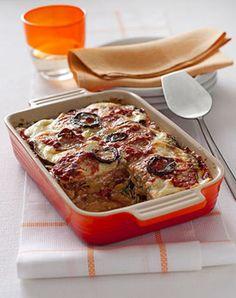 Lasagne vegetariane Un primo piatto preparato solo con verdure, dal sapore ricco che si presta anche a essere servito come piatto unico