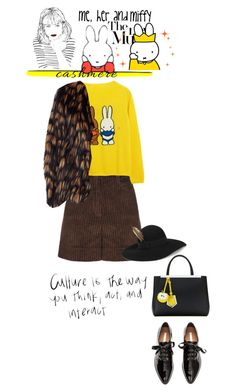 """""""Culture is the way you think, act and interact"""" by no-where-girl ❤ liked on Polyvore featuring FLOW the Label, Poesia, Yves Saint Laurent, Fendi, Dries Van Noten and cashmere"""