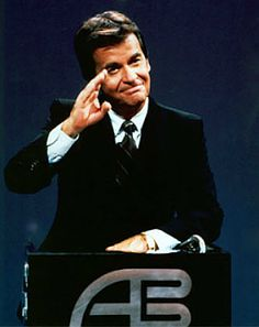 American Bandstand, hosted by Dick Clark from 1956-1989