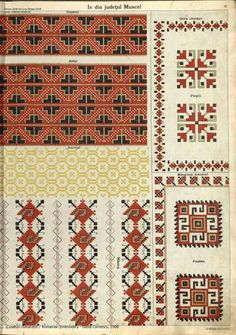 Folk Embroidery, Learn Embroidery, Cross Stitch Embroidery, Embroidery Patterns, Cross Stitch Patterns, Embroidery Techniques, Beading Patterns, Bohemian Rug, Knitting