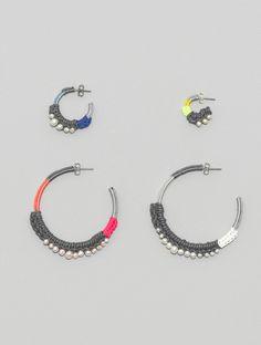 crocheted earrings ♥