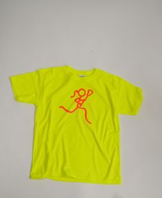 Our neon lax girl t-shirt is perfect for any lax girl who shines bright on and off the lacrosse field! It makes an awesome girls lacrosse gift for any player!