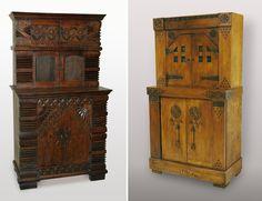 проект ЕД Поленовой 1880 copy Russian Modern- Furniture made according to designs of Elena Polenova
