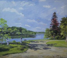 Aldershvileparken, Bagsværd Sø Golf Courses, Painting, Art, Anchor, Art Background, Painting Art, Kunst, Paintings, Performing Arts