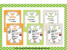 Listen to Reading FREEBIE>>you choose your favorite design! A Differentiated Kindergarten: Kindergaten Daily 5 Link up and FREEBIES.