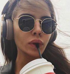 Luxury Round Sunglasses Women Brand Designer 2018 Retro Sunglass Drivi