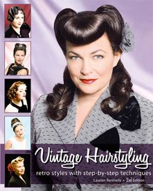 HRST Books - Vintage Hairstyling: Retro Styles with Step-by-Step Techniques, $36.95 (http://store.hrstbooks.com/vintage-hairstyling-retro-styles-with-step-by-step-techniques/)