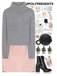 """""""#PolyPresents: Last-Minute Gifts"""" by evangeline-lily ❤ liked on Polyvore featuring Jil Sander, Acne Studios, Marc Jacobs, Mulberry, Carven, Beats by Dr. Dre, claire's, Fujifilm, Chanel and Herbivore"""