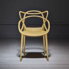 Philippe Stark Mustard Masters Chair | Desk & Dining Chairs | Graham & Green