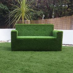 Artifical Grass Seats yorkshire artificial grass artificial grass furniture Source: website artificial grass topped playground seating p. Sofa Makeover, Furniture Makeover, Garden Sofa, Garden Furniture, Artificial Grass Rug, Lanscape Design, Lighthouse Decor, Front Garden Landscape, Faux Grass