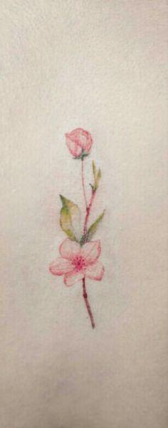 Tattoo Ideas, Tattoo Designs, Flower Watercolor, Small Wrist Tattoos, Get A Tattoo, Flower Tattoos, Tatoos, Tatting, Rose