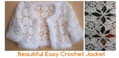 Today we bring a piece of crochet very special: a fantastic chaqueta! It is wonderful to take to a party, or wear on a special day.   This is easy to make: just make a few square following the scheme … Read more... →