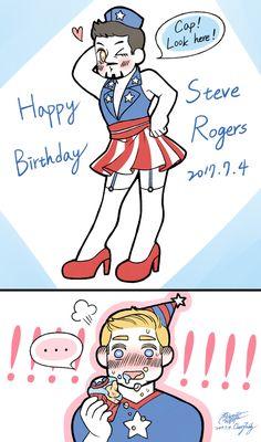 Happy Birthday Steve!!! Enjoy your gift ;)