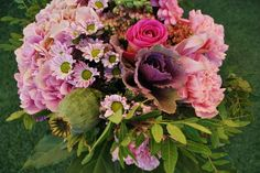 Tutoriel bouquet sur: http://un-mariage-en-couleurs.blog4ever.com/