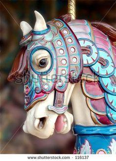 carousel horse--thanks Karen!