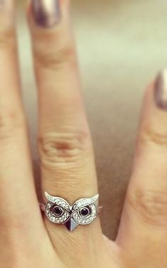 super cute owl ring...