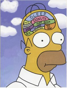 Billedresultat for homer simpson poster brain The Simpsons, Simpsons Funny, Simpsons Quotes, Homer Simpson Brain, Lisa Simpson, Homer Simpson Quotes, Simpson Tumblr, Los Simsons, Too Funny