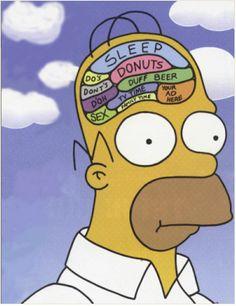 Billedresultat for homer simpson poster brain Homer Simpson Brain, Lisa Simpson, Simpsons Funny, Simpsons Quotes, Simpsons Art, Los Simsons, Duff Beer, Bobs Burgers, Cartoon Memes
