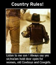 country rules...