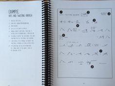 Abfolge Strichmännchen: eine Yoga Klasse Planung Handbuch /