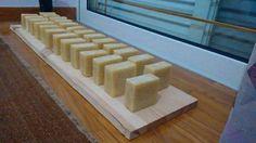 Handmade olive oil soap with palm and coconut oil - Χειροποίητο σαπούνι ελαιολάδου με φοινικέλαιο και λάδι καρύδας
