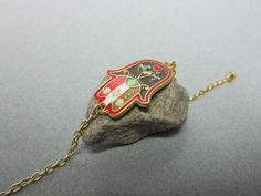 Hamsa Bracelet. $19.99, via Etsy.