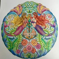 Johanna Basford   Picture by Lana   Colouring Gallery