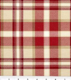 """45"""" Home Essentials Print Fabric-Ethan/Red"""