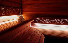 Sauna fińska Best Line w strefie SPA Pałacu Polanka, sauna, saunas, spa, spas, wellness, warm, hot, relax, relaxation, light, music, aromatherapy, luxury, exclusive, design, producer, health, wood, glass, project, hemlock, abachi, Poland, benefits, healthy lifestyle, beauty, fitness, inspirations, shower, bathroom