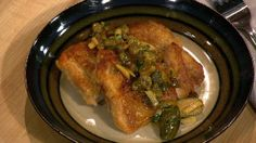 Michael Symon's Salsa Verde: serve over pieces of (whole roasted) chicken and fish