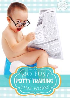 4 kids later, I'm sharing my tips for making potty training a stress-free event! No gimmicks, no products. Trust me, it's the easy way out!