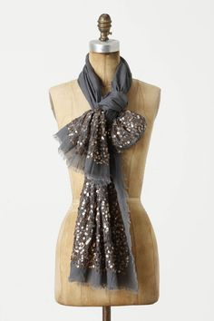 Selenic Scarf (love the way this is tied)