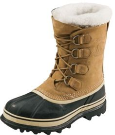 These pac boots have handcrafted waterproof rubber shells that are complemented by waterproof, full-grain leather uppers for complete protection from the elements and comfort needed to tackle any winter activity. The 9mm removable ThermoPlus® felt inner boots seal in warmth and cushion your feet for walking comfort.   Women's  whole sizes:  5-11.  Average weight:  4 lbs.  Color:  Tan.