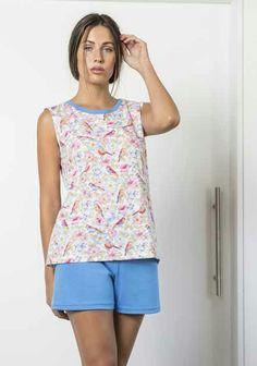 8a01ba53b Las 36 mejores imágenes de Pijamas mujer Verano 2018