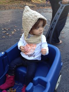 Children's Hooded Cowl  MULTIPLE COLORS AVAILABLE by EHBoutique, $24.99