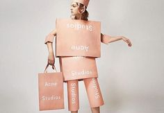 I is for Imagery. Despite reasonably thorough research, I'm riddled by where this image came from and what its actual use was... a campaign shot, an image for social media, a website display, a magazine shoot? http://www.ubercultured.com/2016/04/a-visual-alphabet-of-acne-studios.html