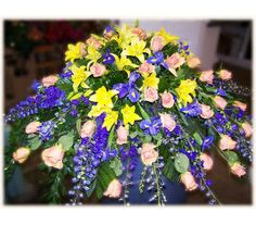 $425.00 The Rose Shop Utah - Roses, Lilies, Delphinium, Iris