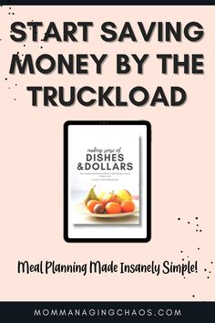 Are you struggling with meal planning and saving money on your groceries? Dishes and Dollars is your answer to making meal planning simple and easy PLUS save more money on your grocery budget every month.  Managing Your Money   Frugal Living   Saving Money   Thrifty Living   Budgeting Your Money