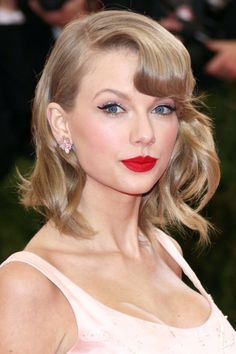 9 Nostalgic 'Dos That Are Rad Again #refinery29  http://www.refinery29.com/nostalgic-hairstyles#slide5  If anyone can bring back the vintage finger wave, it's ladylike Taylor Swift.