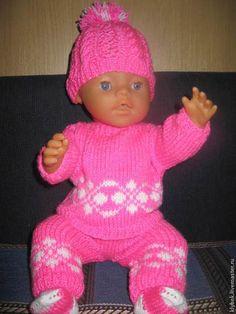 Розовый костюм для беби бона - розовый,беби бон,Беби Борн,одежда для кукол