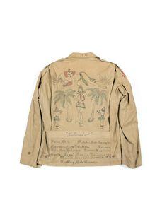 unionlosangeles:  M-1941 Cotton Field Jacket (WWII 1940's)unionlosangeles.com