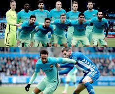 Las imágenes que dejó el juego Alavés vs Barcelona#LaLiga #6a0