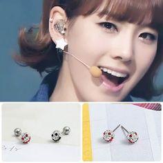 [SNSD Style] Smile Piercing & Earring(Tae-yeon) $6 on kstargoods.com